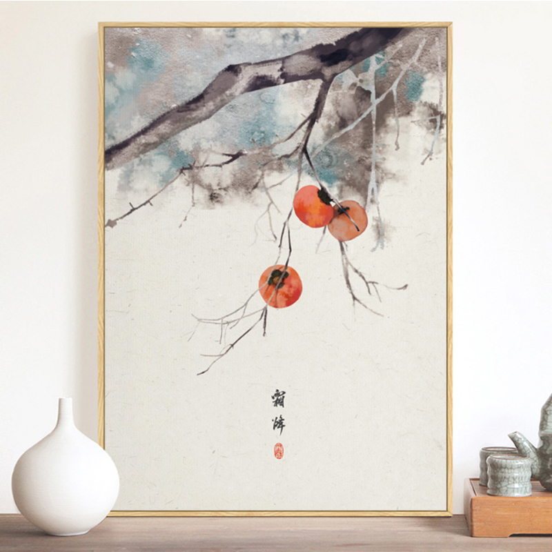 Original Chinese Wall Art Canvas Painting 24 Kinds Of Festivals Poster And Print Picture For Living Room Aisle Studio Home Decor