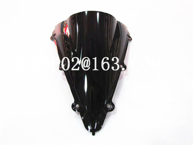 HotSale Freeshipping For Yamaha YZF 1000 R1 2004 2005 2006 black Windshield WindScreen Double Bubble yzf r1 04 05 06