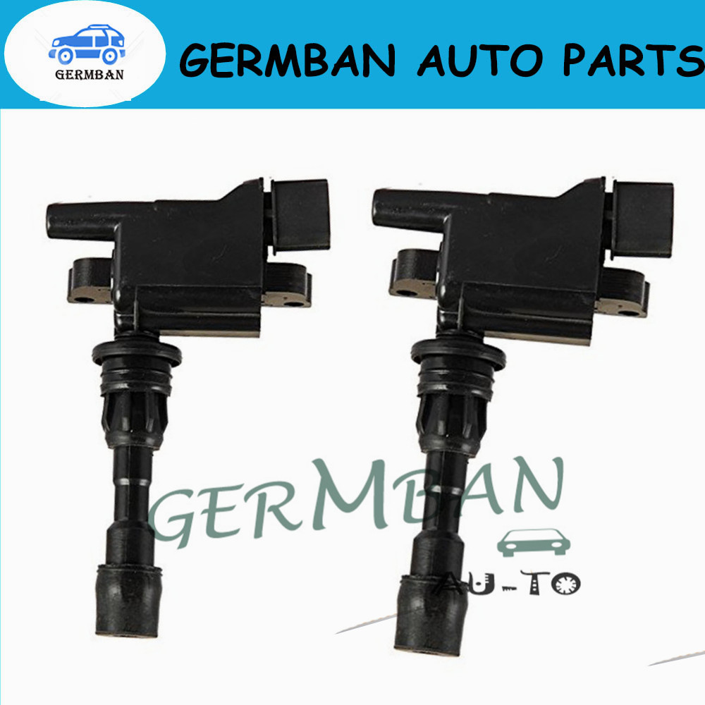 2 PCS Bobine Voor MAZDA 323 VI BJ 1.6L L4 Miata 1.8L 8530378 8010674 10674 M536A07 CU1443 Deel Geen # ZZY1-18-100 ZL01-18-100