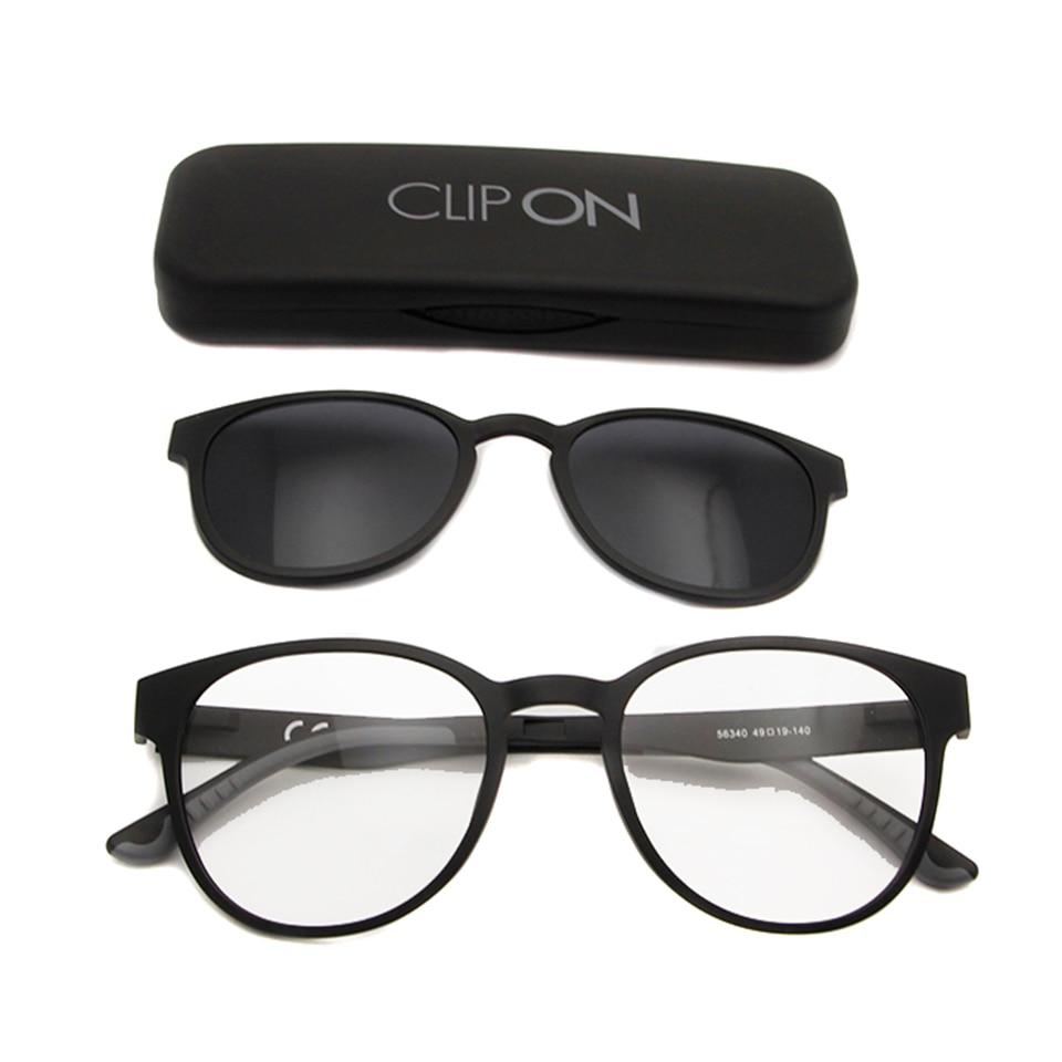 ESNBIE Ultem Polarisierte Clip On Sonnenbrille Magnetrahmen Brille - Bekleidungszubehör - Foto 5