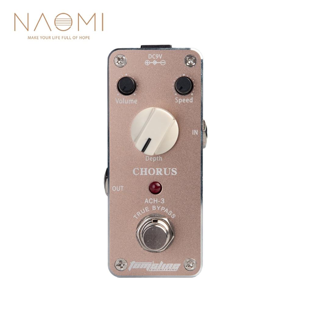 buy naomi tomsline pedal chorus guitar effect pedal bass treble level true. Black Bedroom Furniture Sets. Home Design Ideas