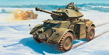 Out of print product Italeri 6478 1 35 STAGHOUND MK III plastic model kit