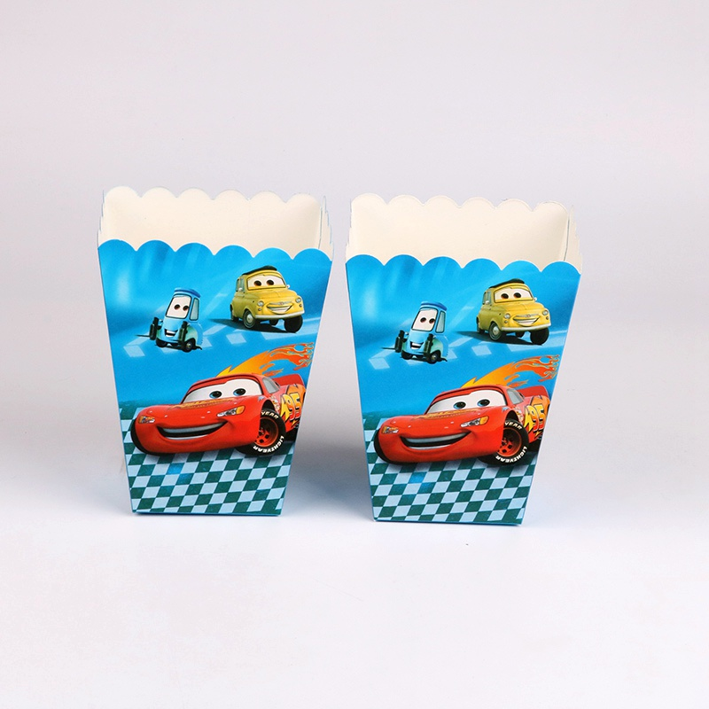 6 pcs/lot red car Popcorn Boxes Birthday Party Wedding Baby Shower Party Decorations Kids Event supplies6 pcs/lot red car Popcorn Boxes Birthday Party Wedding Baby Shower Party Decorations Kids Event supplies