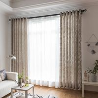 100*280cm Soft Maze Print Curtain Blinds Shading Window Curtains Black Out Red Curtain For Living Room Blackout Curtains