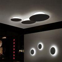 Простой светодиодный потолочный светильник, современная спальня/учебы лампы, персонализированные Творческий Маленькие Круглые комнате св...