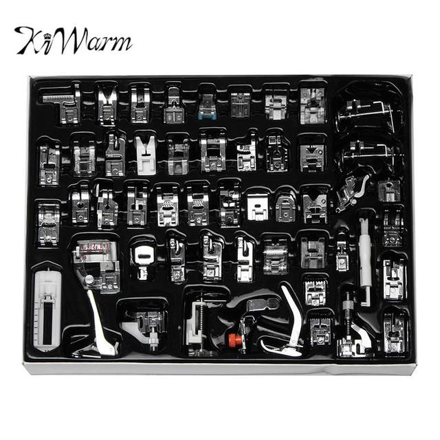 KiWarm 52 Stücke Nähmaschine Snap Nähfuß Set Multifunktionale Kit ...