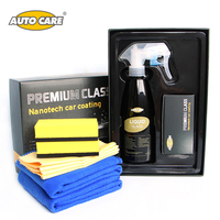 Liquid Glass Nanotech Crystal Glass Coating Kit 250ml Hydrophobic Protectant Rain And Water Repel Car Window