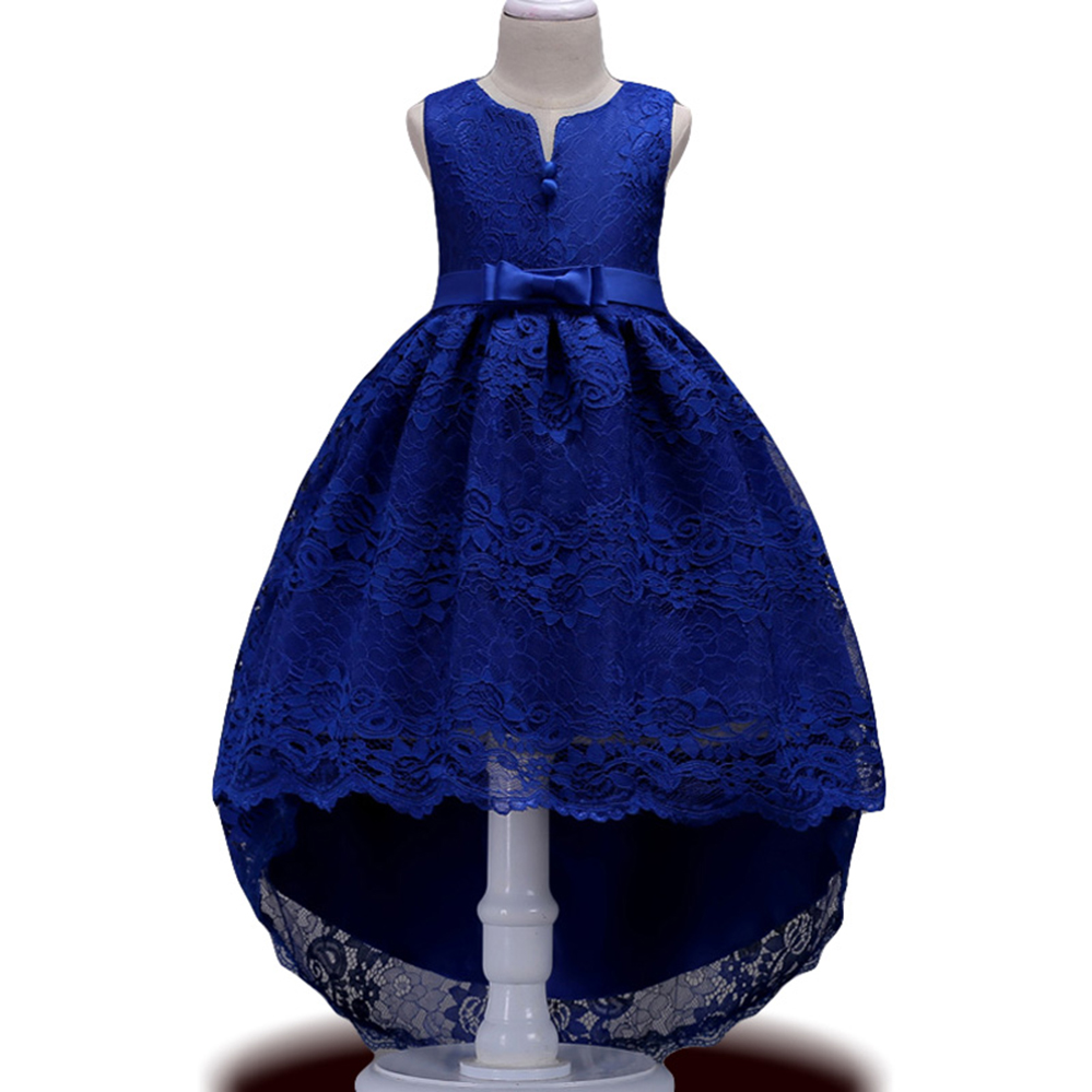 Summer Kids Girls Lace Princess Dress Girls Wedding Party Evening Dresses Children Clothes Teenage Clothing 3 5 8 10 12 14 Year