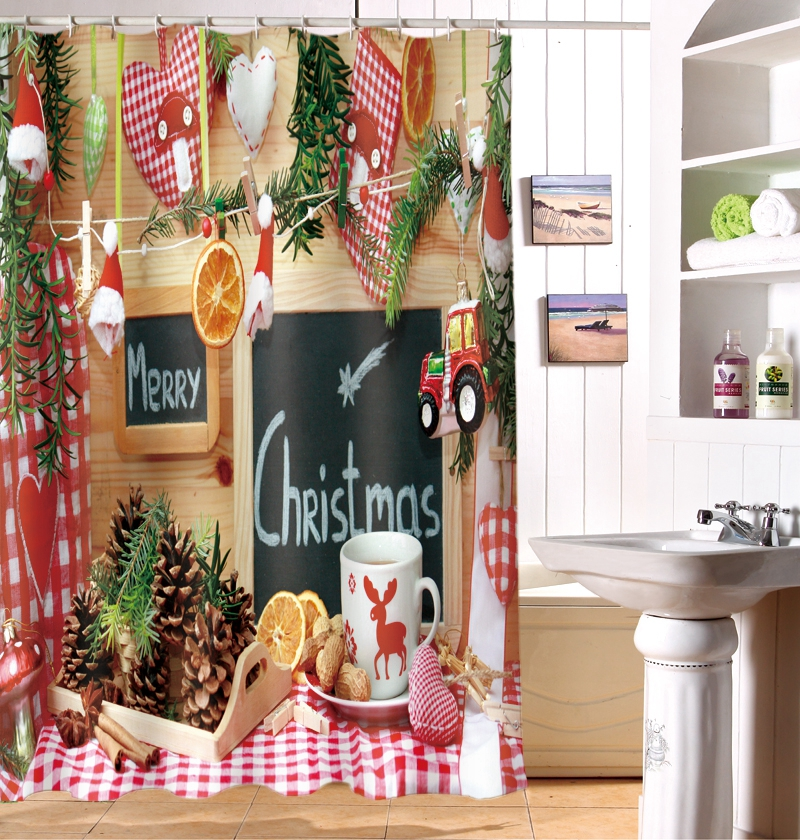 Online Get Cheap Christmas Kitchen Curtains Alibaba Group