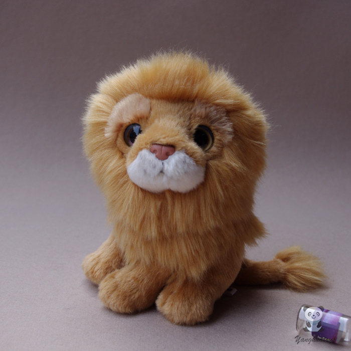 Stuffed Animal Doll Toy Cute Big Eyes Plush Lions Dolls Children's Birthday Gifts Toy Good Quality