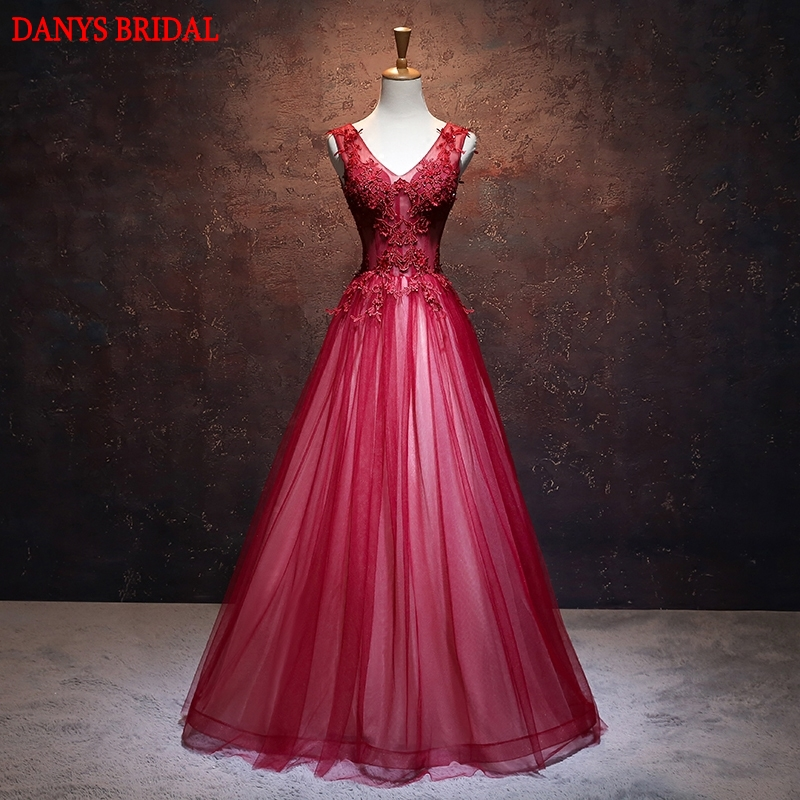 Red Lace Mother Of The Bride Dresses For Weddings Gowns A Line Beaded Elegant Formal Godmother Groom Long Dresses