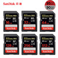 SanDisk 95MB/s SD Card for Camera 512GB 256GB 128GB 64GB 32GB 16GB Memory Card U3 U1 Flash Card for Camera Computer SDXC SDHC