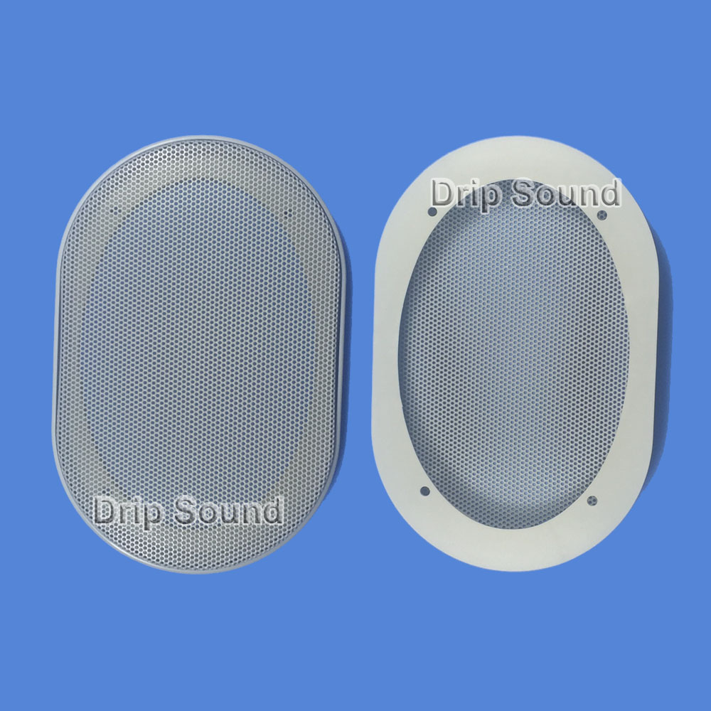 """1pcs 4/""""inch Speaker grill decorative circle loudspeaker Protection net cover"""