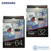 Samsung TF Card MB MD PRO Plus MicroSD Flash Memory Card UHS I 32GB 64GB U3