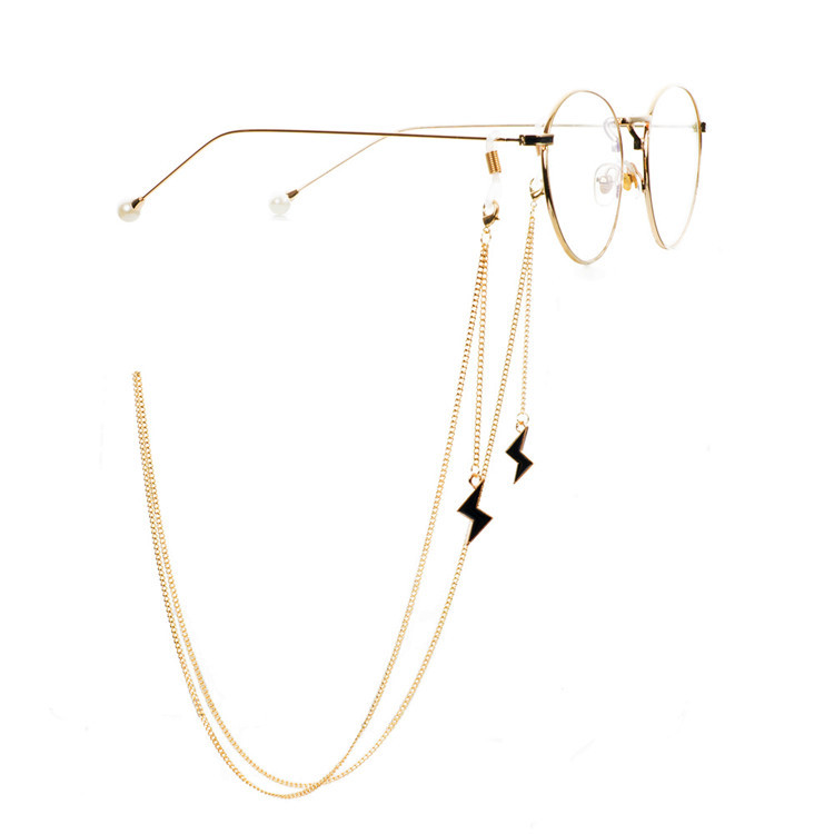 2019 CHIC   Copper Metal Glasses Chain Band Eyewears Chains Glass Eyeglass Lanyards Cord Holder Glasses Ropes Jewelry