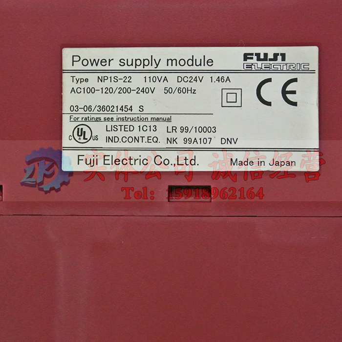 FUJI PLC NP1S-22 Used in good condition With Free DHL / EMS  цены