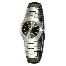 2016 Señoras de lujo de la marca SOLLEN impermeable relojes de moda mujer reloj de cuarzo reloj hombre vestido de zafiro relogio feminino
