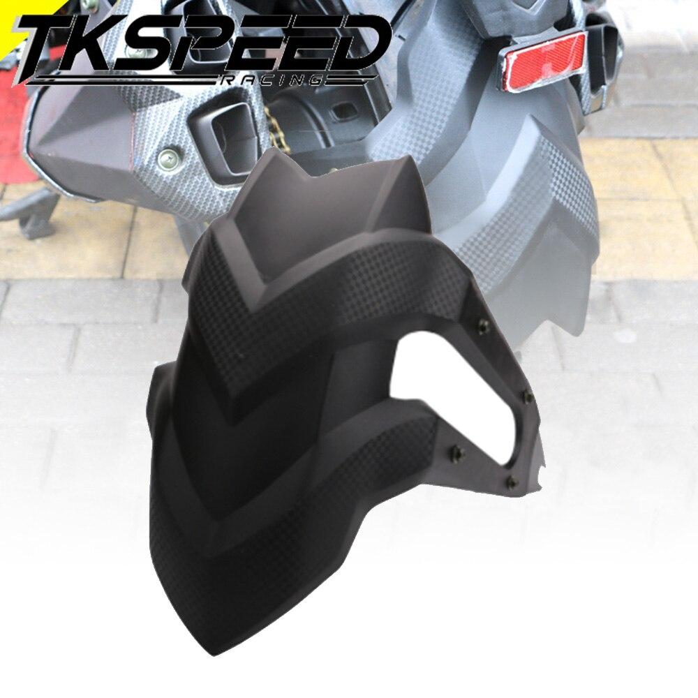 Universal Black Motorcycle Rear Fender For kawasaki Z250 Honda CBF190R CB190R CBF190X CBF150 GW250 YBR125 rear tire fender