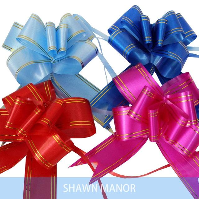 70 Unids 570 Cm Cinta De Flores De Lazos Grandes Para Envolver - Lazos-grandes