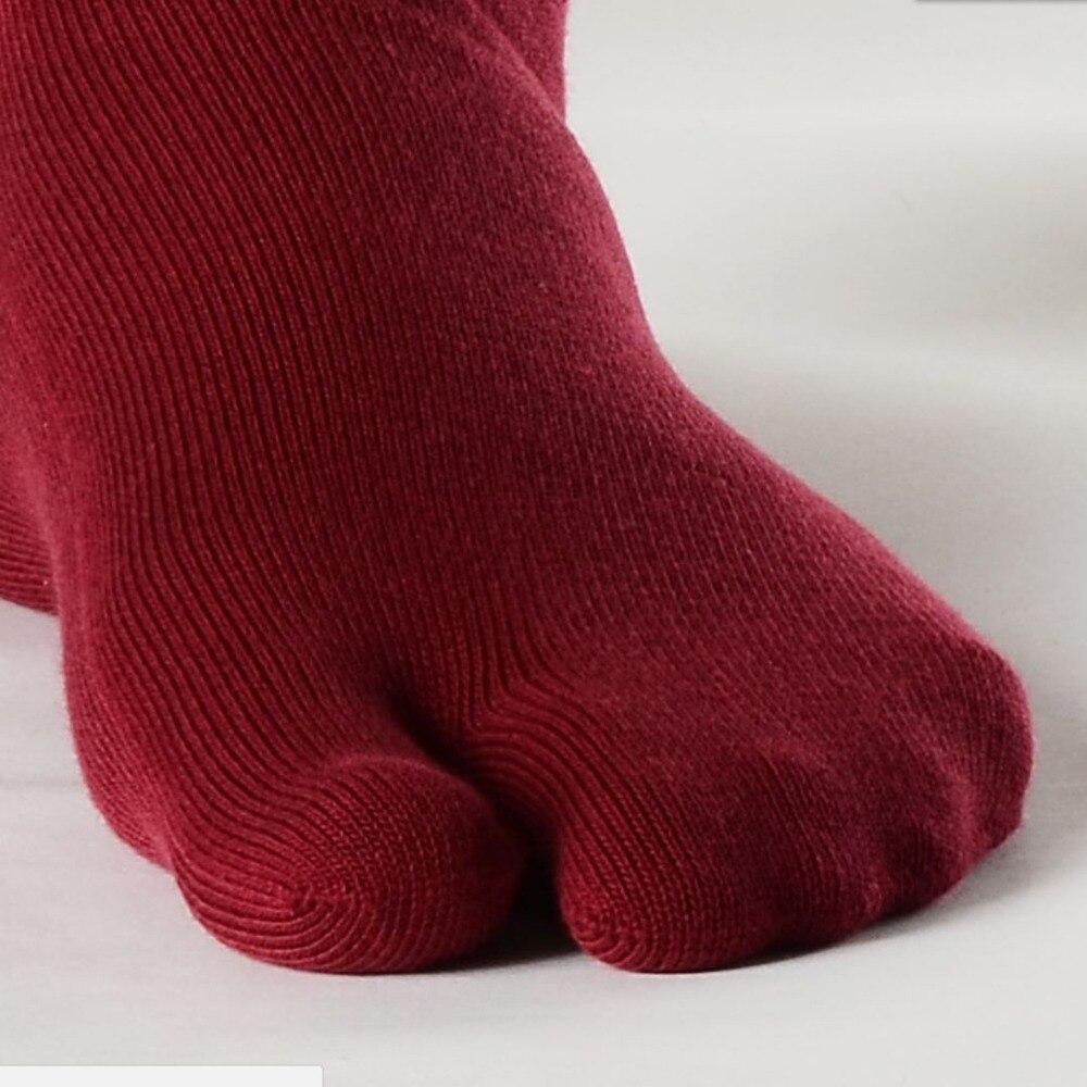 Socks Toe Wear Clogs Odor 1Pair Mens Japanese Two Toe Kimono Flip Flop Split