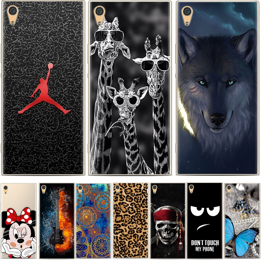 BIGCHEN For Sony Xperia XA1 Plus Case 5.5 Soft TPU Silicone Coque Back Cover For Sony XA1 Plus G3412 G3421 G3423 G3416 image