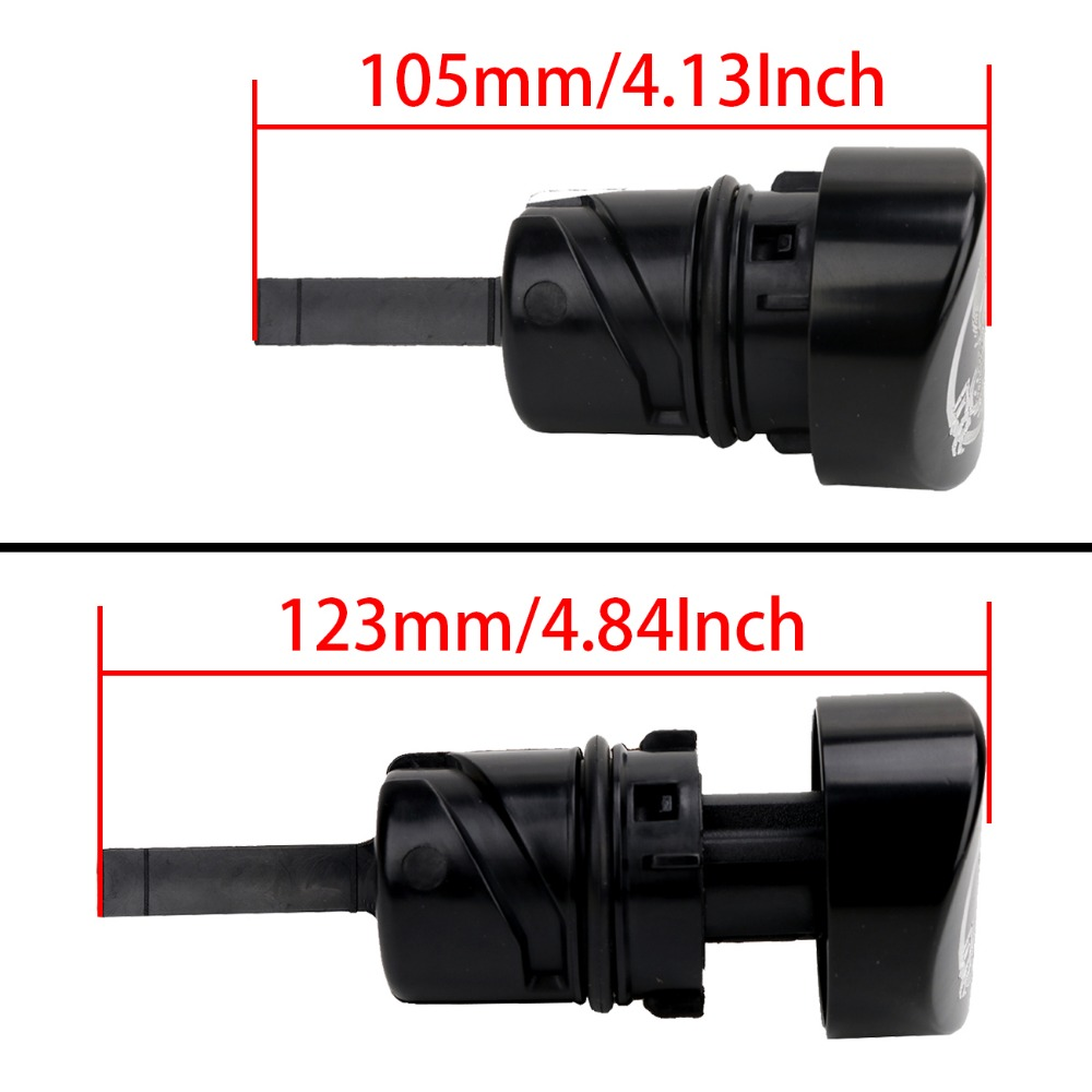 Motorcycle Accessories Oil Dip Stick Filler Plug For Harley 2004-2016 Sportster Iron 48 Forty eight Sportster XL 883 1200-Black