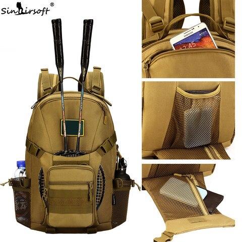 sinairsoft militar tatico mochila 35l 15 polegadas