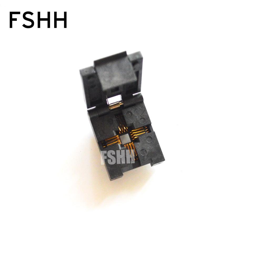 LCC16 LCC-16 Burn-in Socket PLCC16 IC Test Socket/IC Socket(Flip test seat) ucos private seat conversion adapter zy254b ic burn test