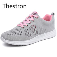 Thestron Women Sneaker Running Shoes 2017 New Popular Style Breathable Cushioning Running Shoes Outdoor Walkng Jogging