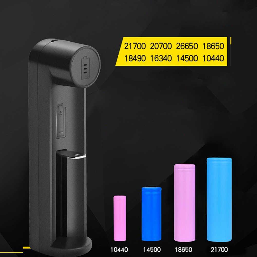 بطاريات ليثيوم أيون شاحن USB ميناء البطارية العالمي ل 18650 21700 20700 لا تشمل كابل شحن