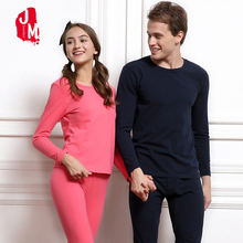New 2018 Men WomenThermal Underwear Sets Cotton Fleece Quality Couple Thermo Clothing Long Johns M-4XL