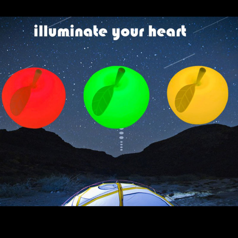 Детский светодиодный ночник usb зарядка силикагель многоцветная Лампа сенсорный изменение цвета праздник день рождения вечеринка украшение