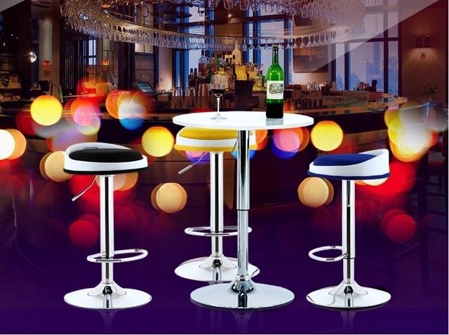 Natale club bar sgabello nero rosso rosa arancione giallo colore
