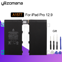 YILIZOMANA For iPad Pro 12.9 inch Battery 10307mAh Li-ion Internal Original Replacement Battery A1584 A1652 A1577 with Tools yilizomana for ipad air 2 battery 7340mah li ion internal original replacement battery for ipad 6 air 2 a1566 a1567 with tools