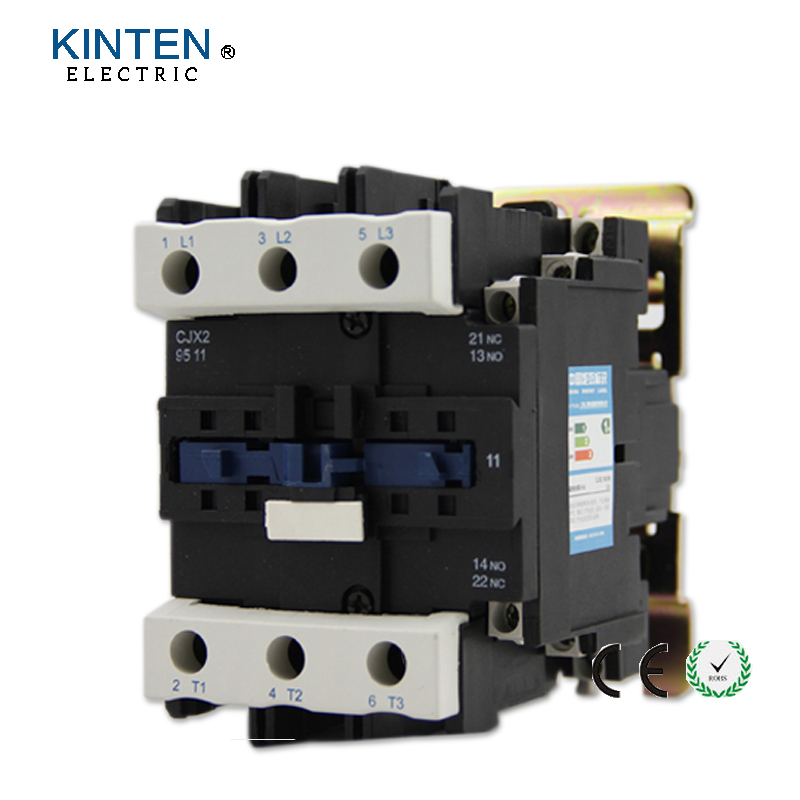 220V Coil Voltage 3 Phase 1NO 1NC Motor Controller AC Contactor 660V 125A 660v 20a 50hz 3 phase 220 230v coil motor 1no ac contactor cjx2 0910