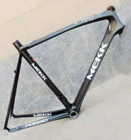 Original Italy MK full carbon 55cm road bicycle frame with headset