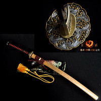 ハンドメイド粘土tempere日本サムライt10鋼剣