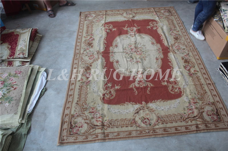 Medium Carpets Needlepoint Woolen Rugs