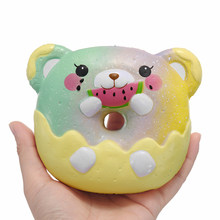 Mobile Phone Straps Mobile Phone Accessories 15cm Kawaii Rocket Simulation Bread Cake Soft Squeeze Toy Gift For Kids Slow Rising Healing Antistress Slime Toys Phone Strap #1
