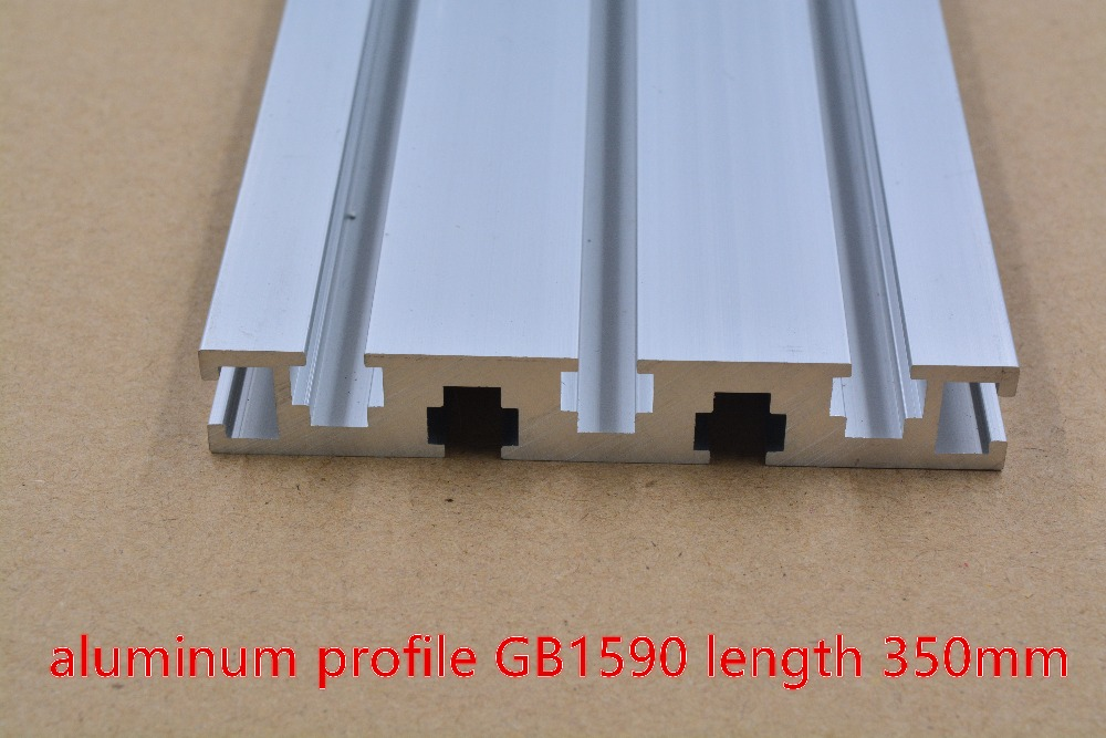 1590 Aluminum Extrusion Profile White Length 350mm Industrial Aluminum Profile Workbench 1pcs