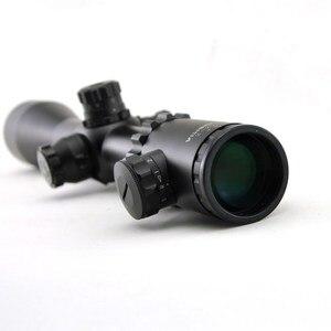 Image 4 - Visionking 2 20x44 탄도 잠금 라이플 스코프 측면 초점 사냥 광학 시력 21mm 장착 링이있는 군사 accurancy 범위