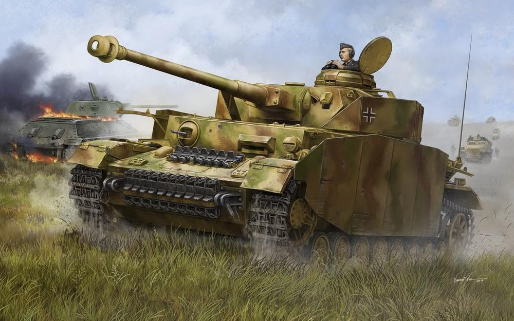 model 00920 Trumpeter 1/16 German Pzkpfw IV Aust.H Medium Tank