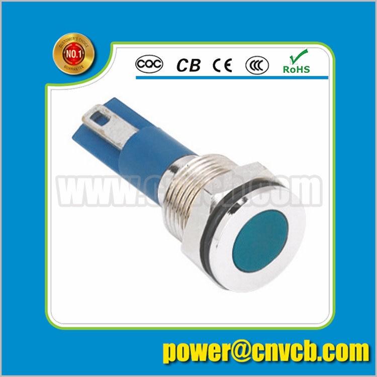 IN102 12mm 36V small signal indicator lamp metal pilot