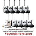 Takstar WTG-900 беспроводной страница отзывов системы 780 - 850 мГц использования для путешествия synonous перевод 1 передатчик + 9 приемники