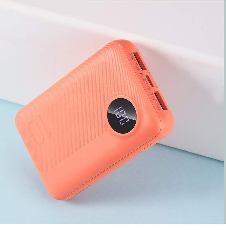 ROCK 10000 mAh Power Bank  Portable Charger Dual USB External Battery 10000 for iphone Samsung Xiaomi Power Bank Cellphones & Telecommunications - title=