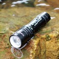 YUPARD XM-L T6 LED 1000LM Diving zoom Flashlight diver zoomable Torch Brightness Waterproof underwater 50m White Light Led Torch
