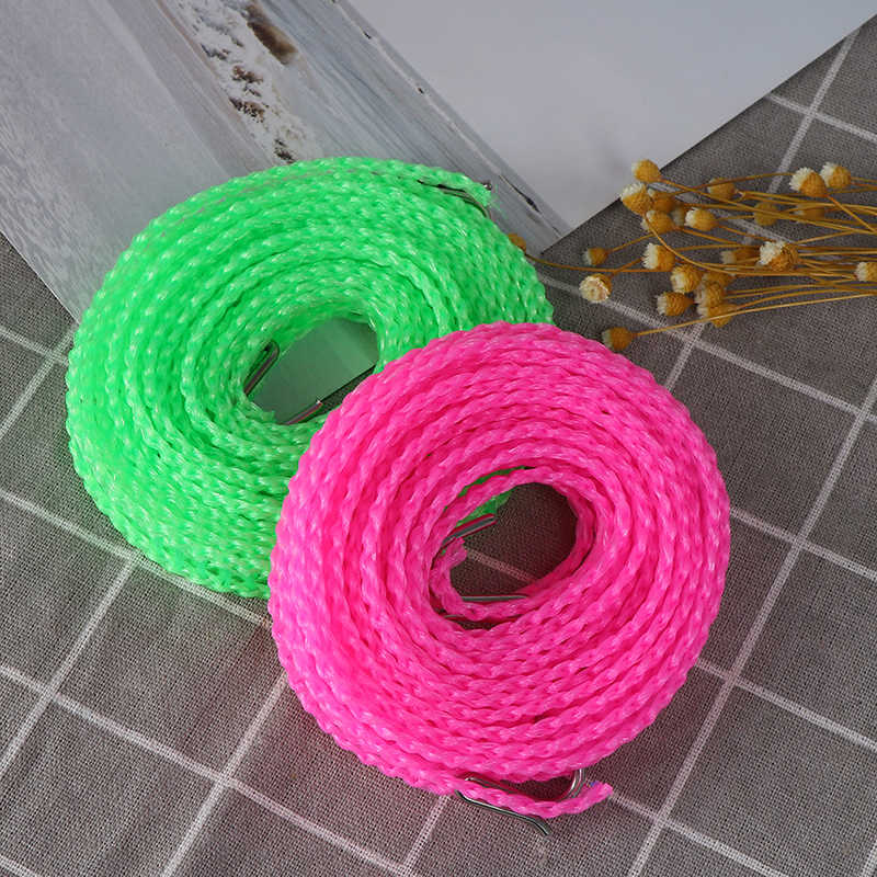 Outdoor travel clothesline laundry non-slip washing clothes line rope solidPRUK