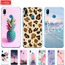 "Case For 5.84"" Huawei P20 Lite Huawei P20 Pro Silicon Soft Phone For HUAWEI P 20 Coque Back Cover Protective Phone Clear Back(China)"