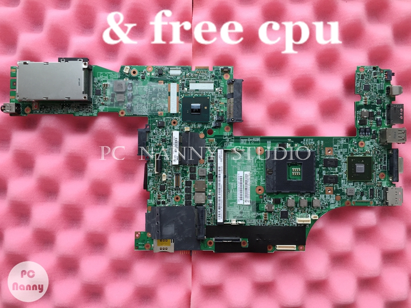 PCNANNY 63Y1878 48 4CU06 031 Laptop motherboard for Lenovo thinkpad T510 QM57 Nvidia NVS 3100M Mainboard