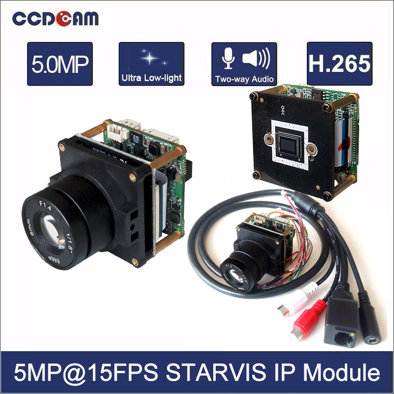 CCDCAM HD H.265 STARVIS 5MP 15fps 4MP 22fps 1/2.9 inch Sony IMX326 Hisilicon 3516D 5 Megapixel Starlight Network IP module Board розетка lezard 701 0202 127 серия скр проводки мира двойная с з керамика белый